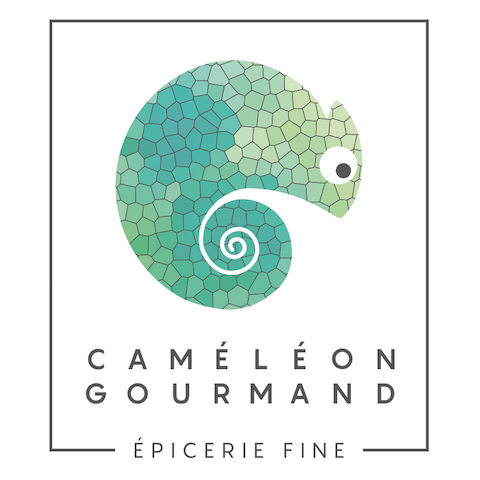 Le logo du Caméléon Gourand